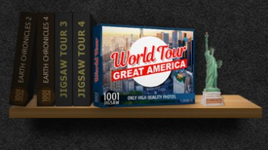 1001 Jigsaw. World Tour: Great America İndir Yükle