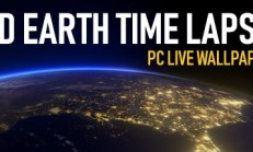 3D Earth Time Lapse PC Live Wallpaper İndir Yükle