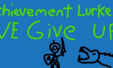Achievement Lurker: We Give Up! İndir Yükle
