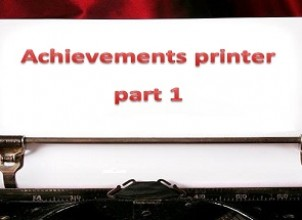 Achievements printer part 1 İndir Yükle