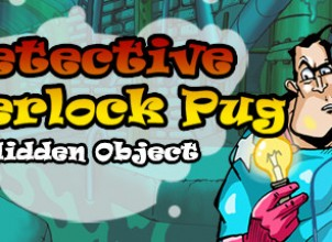 Detective Sherlock Pug – Hidden Object. Relaxing games İndir Yükle