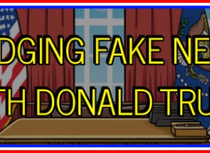 Dodging Fake News With Donald Trump İndir Yükle