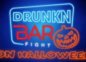 Drunkn Bar Fight on Halloween İndir Yükle