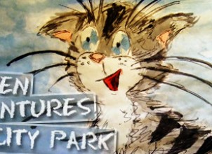 Kitten Adventures in City Park İndir Yükle