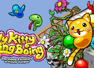 Kitty Kitty Boing Boing: the Happy Adventure in Puzzle Garden! İndir Yükle