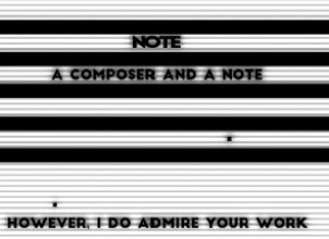 NOTE : a Composer and a Note İndir Yükle