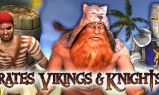 Pirates, Vikings, and Knights II İndir Yükle