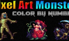 Pixel Art Monster – Color by Number İndir Yükle