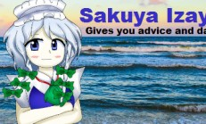 Sakuya Izayoi Gives You Advice And Dabs İndir Yükle