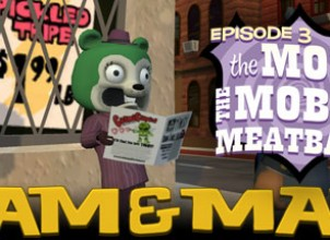Sam & Max 103: The Mole, the Mob and the Meatball İndir Yükle