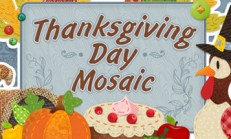 Thanksgiving Day Mosaic İndir Yükle