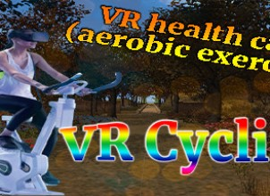 VR health care (aerobic exercise): VR sport and cycling in Maya gardens İndir Yükle